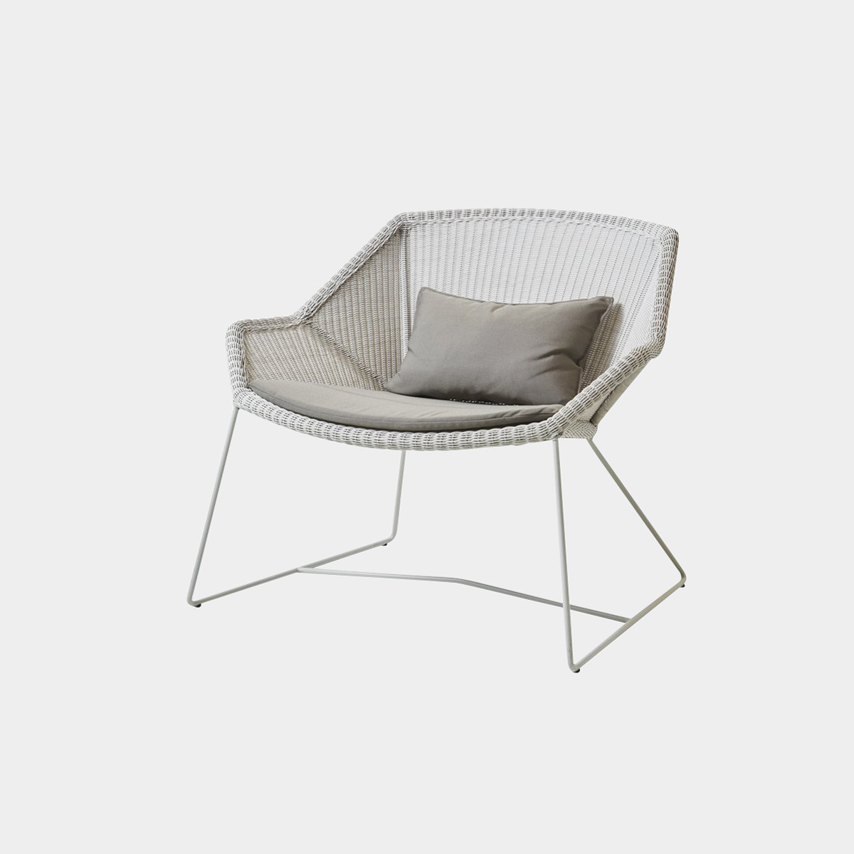 Breeze Loungesessel - Sitzkissen in taupe
