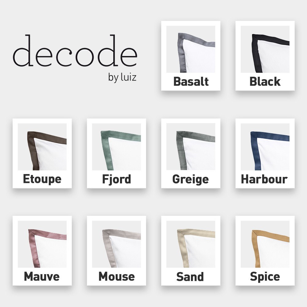 Decode by Luiz One Bettbezug Farben