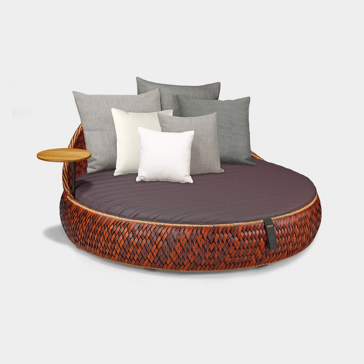 Dedon Dala Daybed Ansicht Fire