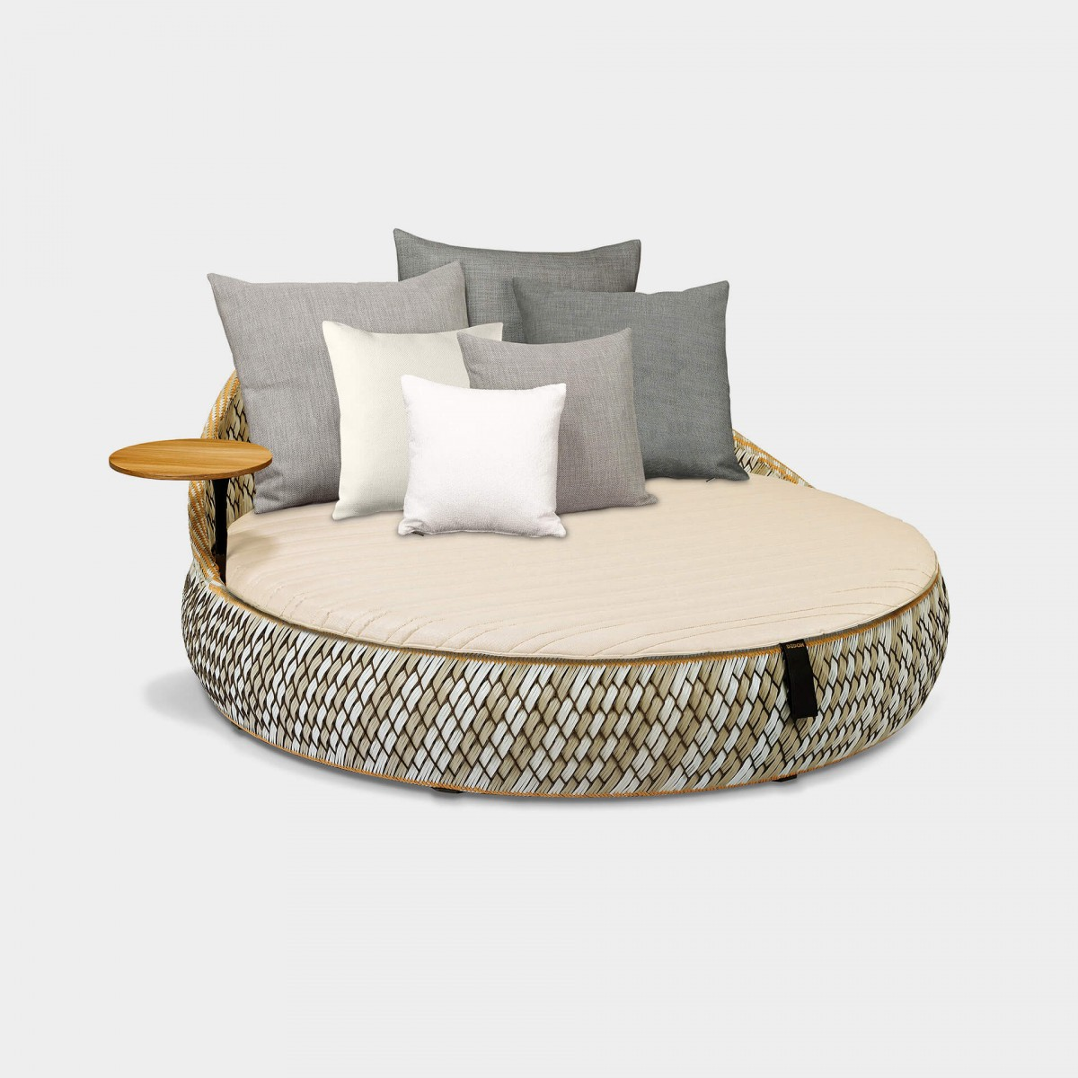 Dedon Dala Daybed Ansicht Stone