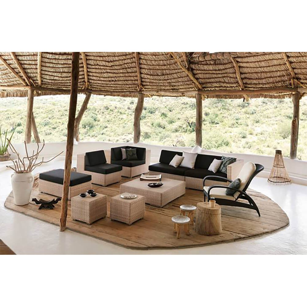 dedon lounge hocker tisch online kaufen zawoh. Black Bedroom Furniture Sets. Home Design Ideas