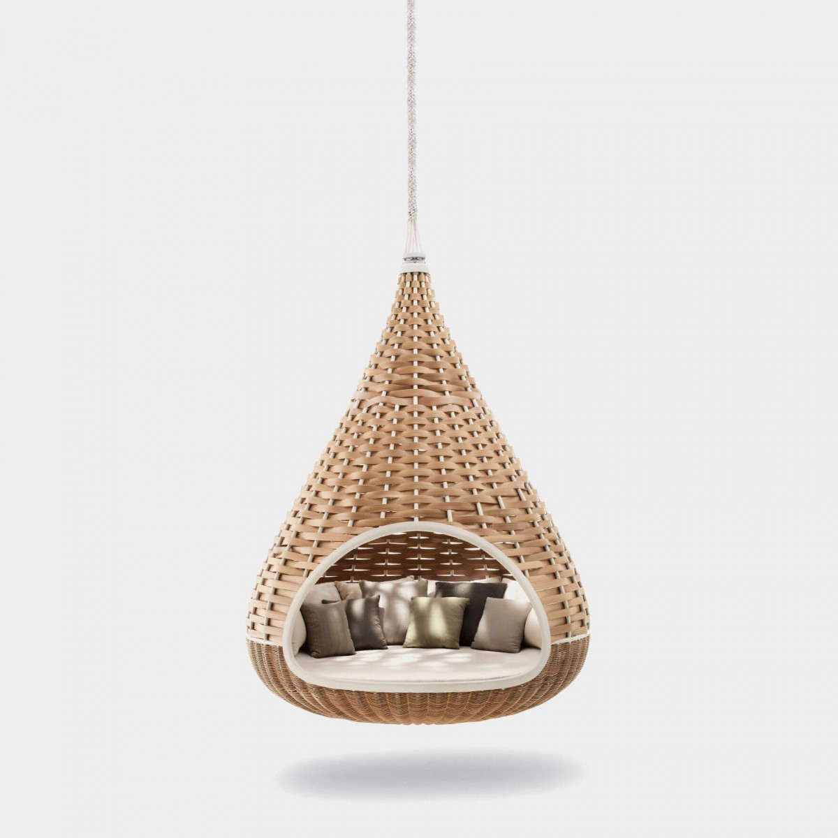 Dedon Nestrest Hanging Lounger Ansicht Natural