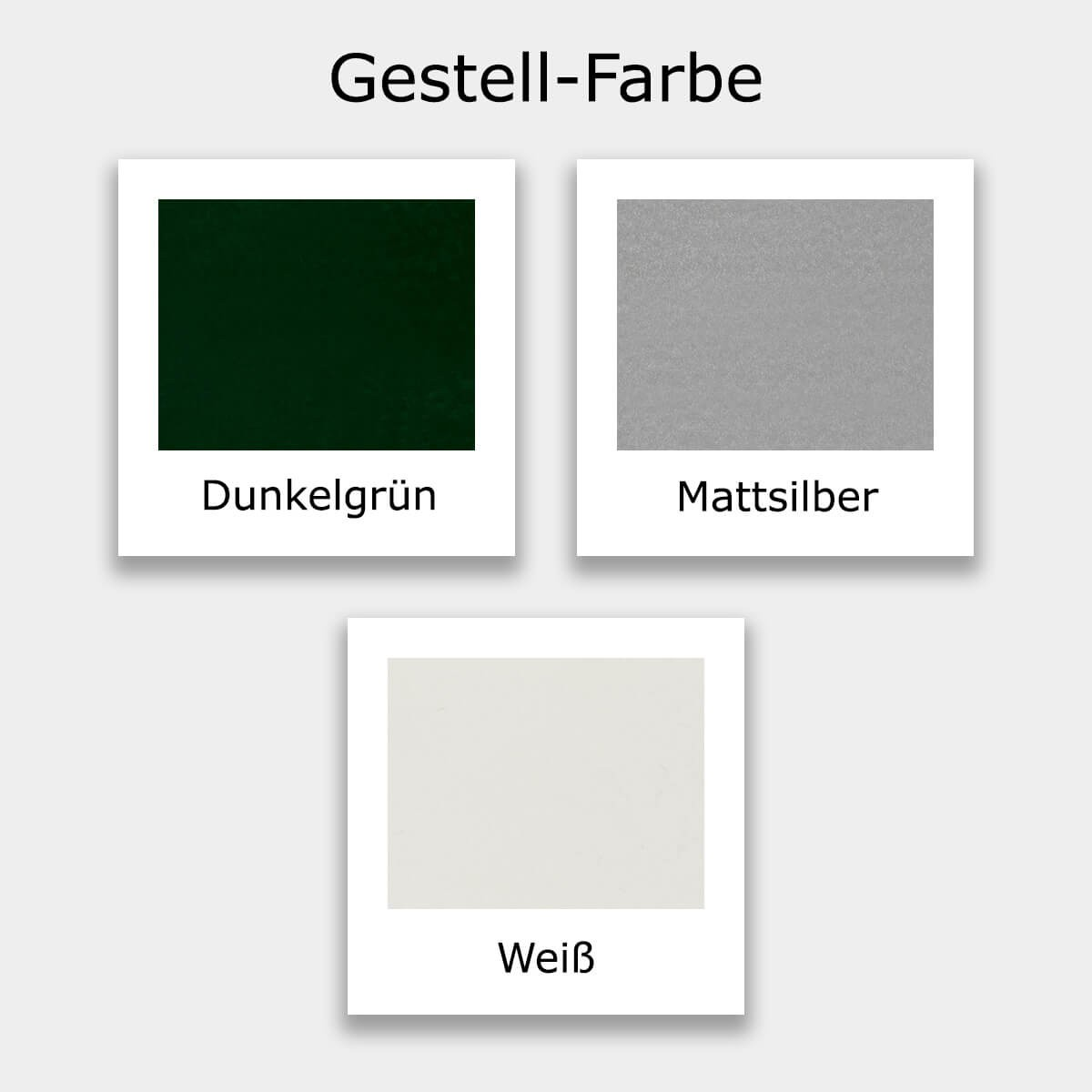Gestell Farb-Muster