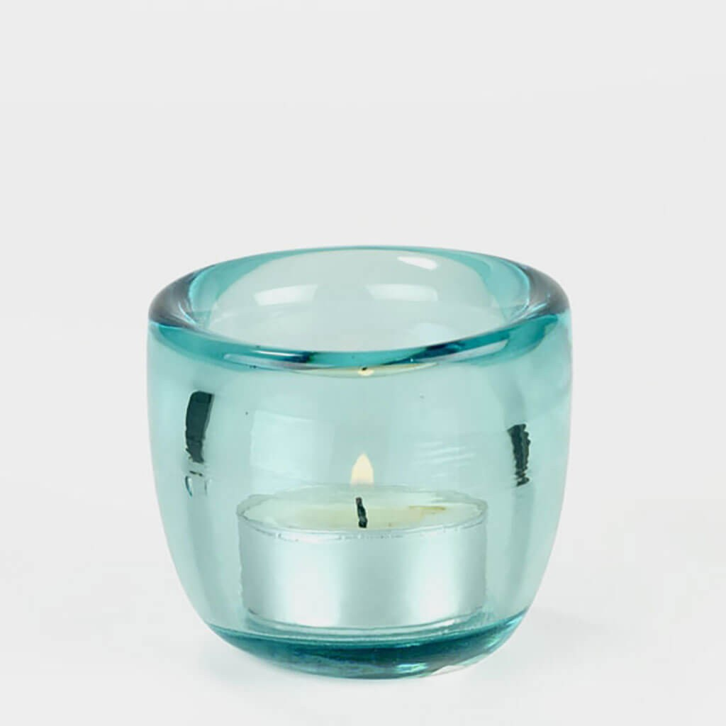 Lambert Onda Mini Windlicht Ocean Blue