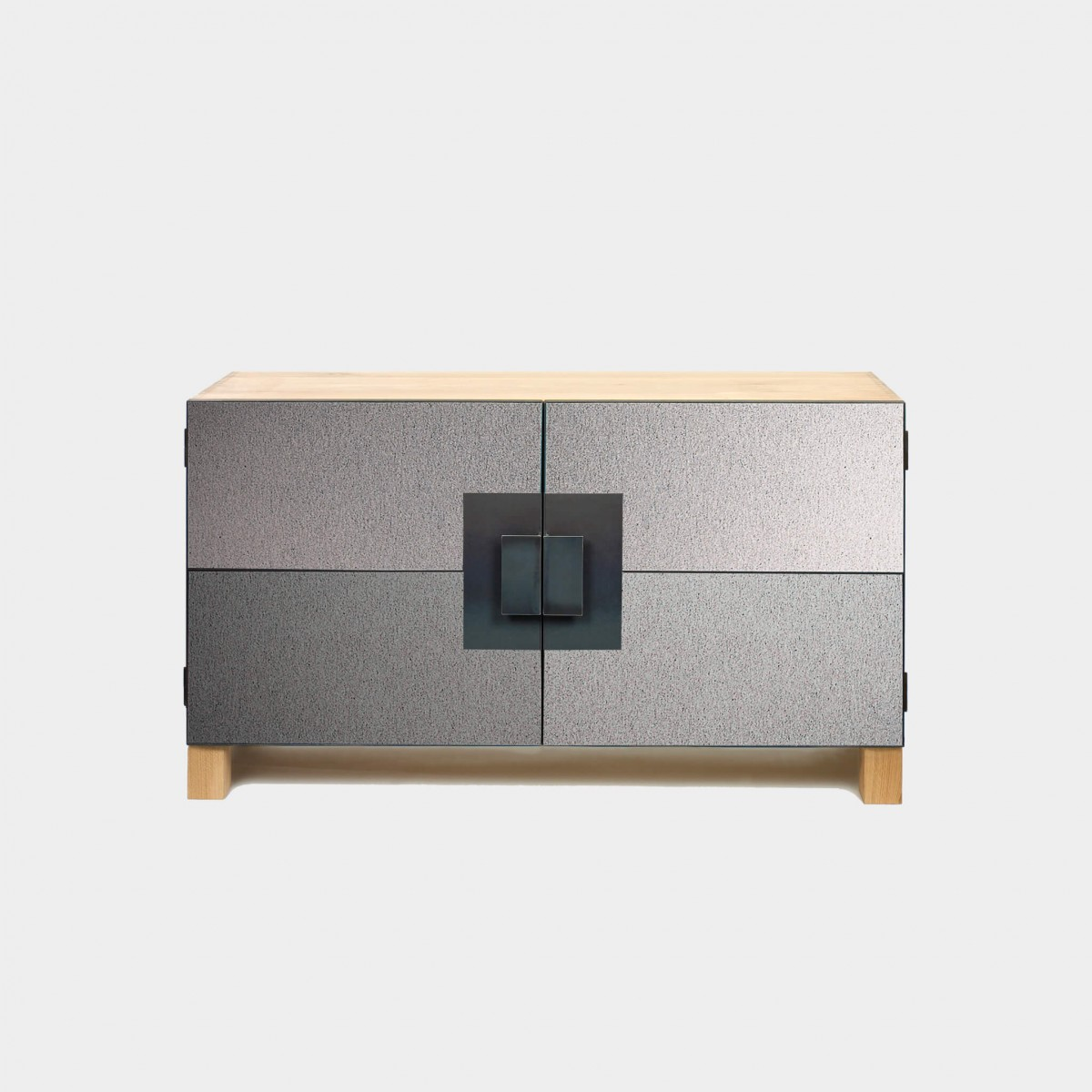 lambert morton sideboard filz naturgrau meliert zawoh. Black Bedroom Furniture Sets. Home Design Ideas