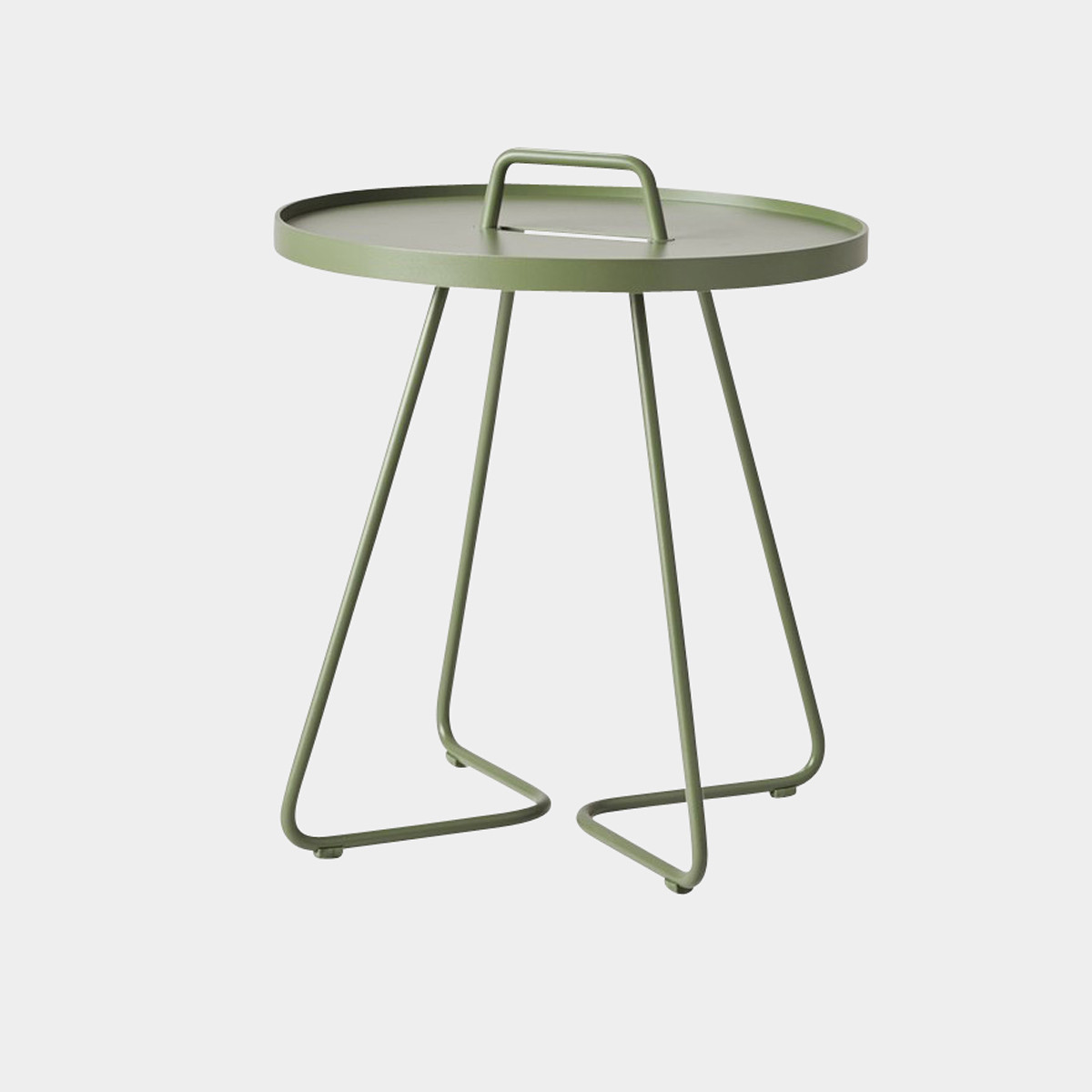 On-the-move Beistelltisch olive green, klein