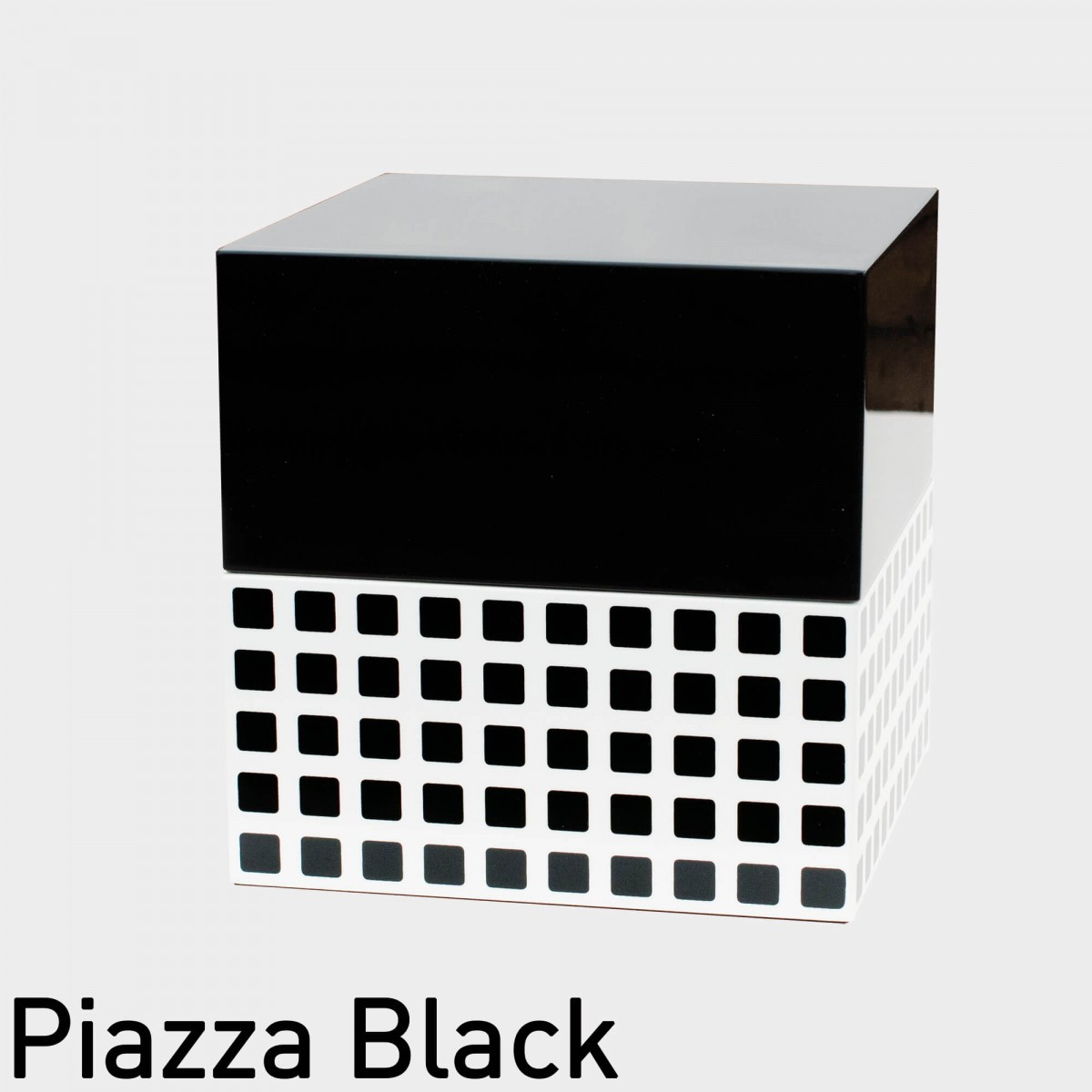 Remember Schmuckbox Jewel Cube - Piazza Black