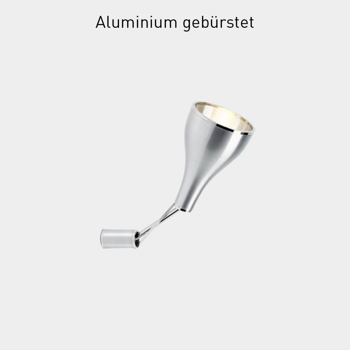 Serien Lighting One Eighty Wall - Aluminium gebürstet