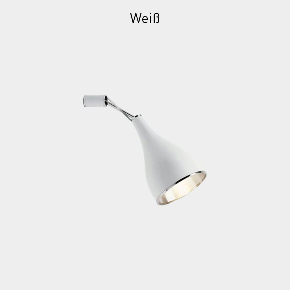 Serien Lighting One Eighty Wall - Weiß